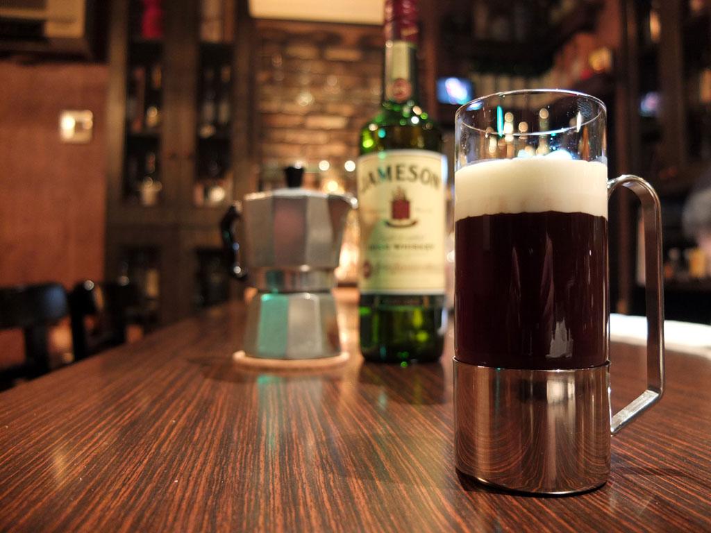 アイリッシュ・コーヒー(Irish Coffee)
